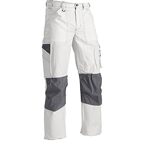 """Blåkläder Workwear Arbeitsbundhose Maler """"1091"""", 1 Stück, C46, weiß, 67-10911210-1000-C46"""