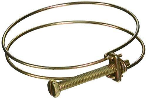DealMux ajustable de gas del tubo de agua alambre de metal de la abrazadera de manguera, 70-78mm