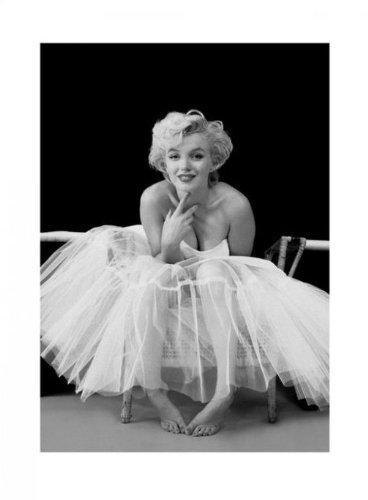 Marilyn Monroe - Kunstdruck-Marilyn Monroe Ballerina (in 60 cm x 80 cm)