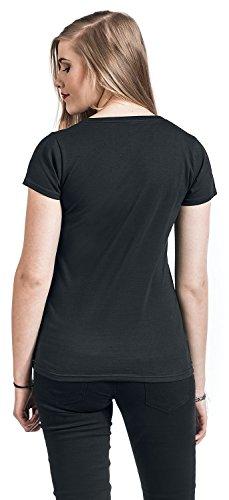 Ich bin eine Zicke Girl-Shirt Schwarz Schwarz