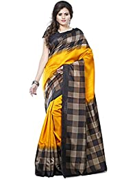 Winza Designer Womens Printed Art Silk Ethnic Wear With Blouse Saree