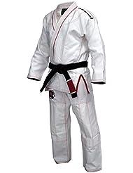 OKAMI Fightgear BJJ GI Sakura Blanco blanco Talla:A3 (ca. 175-185 cm)