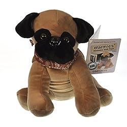 Warmies Cozy Mascotas Pugsy el Pug Microwaveable Peluche