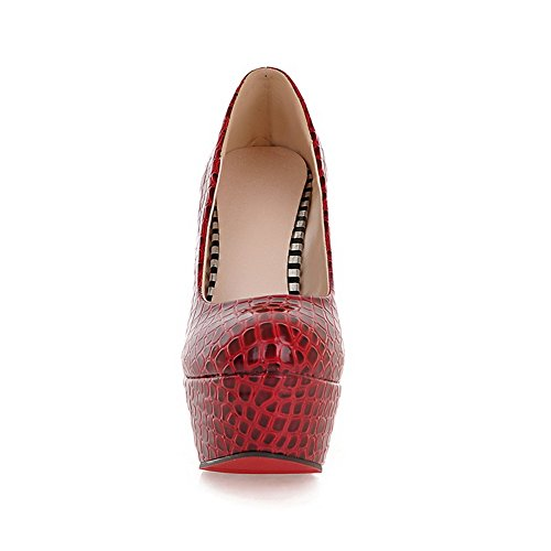 donna Rosso Scarpe tacco BalaMasa col KwqWt6UFWZ