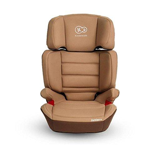 Kinderkraft Junior Plus OX Kinderautositz Autokindersitz Kindersitz 15 bis 36 kg Gruppe 2 3 Beige
