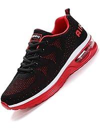 a95c04bc2c2 smarten Hommes Femme Basket Mode Chaussures de Sports Course Sneakers  Fitness Outdoor Run Shoes Running Respirantes
