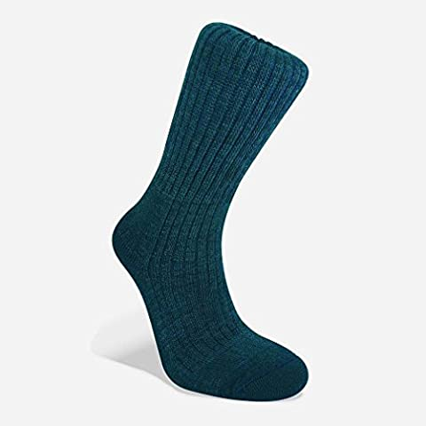 Bridgedale Men's Comfort Trekker Socks, Navy, S