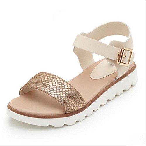 pengweiSandali semplici scarpe piane scarpe da donna incinte scarpe antisdrucciolevoli estive 2