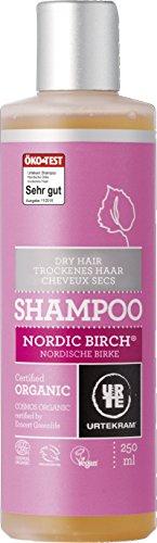 Urtekram Nordische Birke Shampoo Bio, trockenes Haar, 250 ml