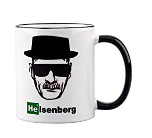 Breaking Bad / Heisenberg Mug - Perfect gift for all fans of Walter White - ceramic coffee cup