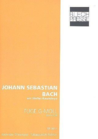 Fuge g-Moll BWV578: für 2 Euphonien, Tuba in F und Tuba in B
