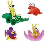 Unbekannt Marsupilami - Badewannenspielzeug - Set 1