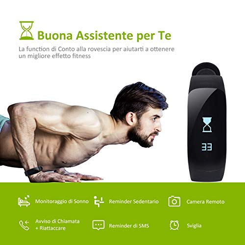 Zoom IMG-3 omorc fitness tracker impermeabile ip67