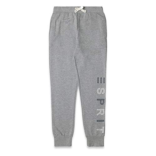 ESPRIT KIDS Jungen Knit Pants Perm Sporthose, Grau (Mid Heather Grey 260), 170 (Herstellergröße: XL) Kind Knit Pant