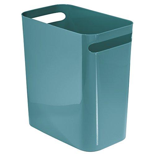 InterDesign Una-Cestino rifiuti può, in plastica, colore: