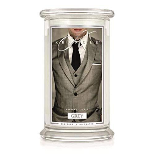 Duftkerze – Grey – Kringle® – Raumduft, Duft, Kerze im Glas, Stumpenkerze, Housewarmer, Aroma, Aromakerze