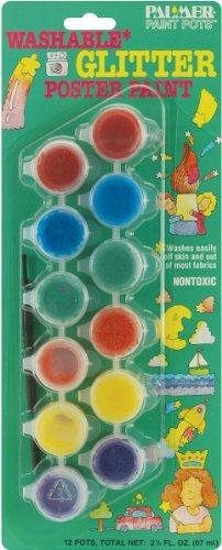 Palmer Paint Pot (Glitter Washable Poster Paint Pots 139506)