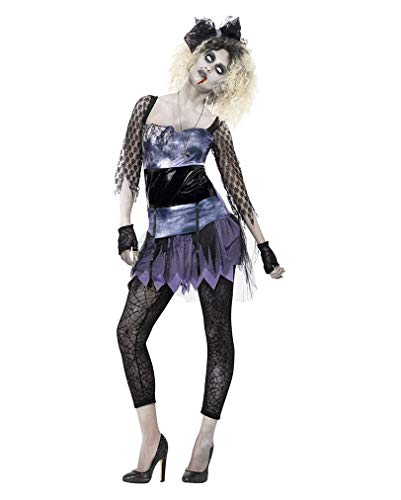 Horror-Shop 80er Jahre Zombie Kostüm für Damen - 80er Jahre Zombie Kostüm