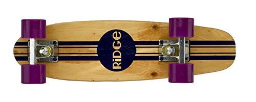 Ridge Retro Skateboard Mini Cruiser, lila, 22 Zoll, WPB-22