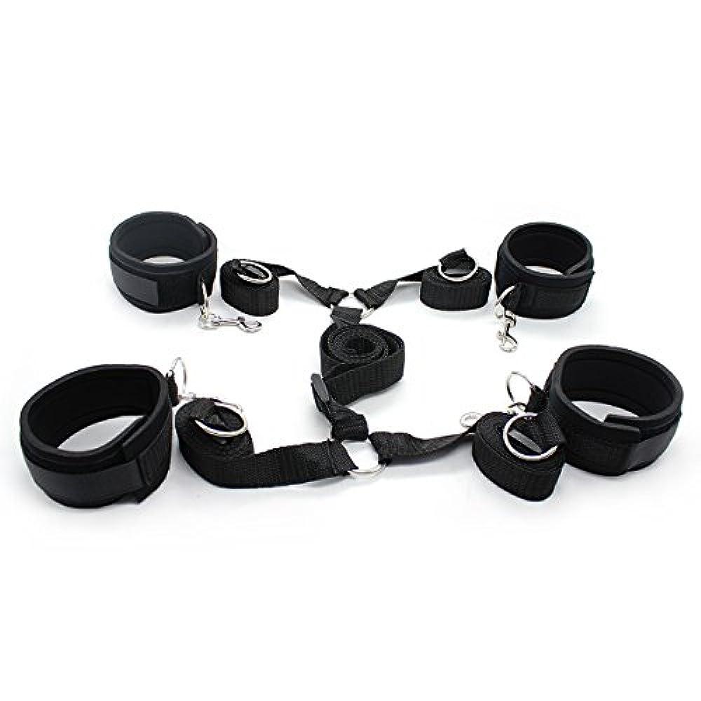 Under Bed Restraints Under Mattress Bondage Restraint System With Leather Cuffs