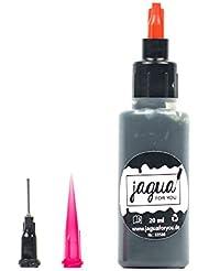 Jagua Gel comme Set | 20 ml | avec sticker Stamping et accessoires | Tatouage Temporaire wie Henna, seulement Bleu/noir | 2 semaines sur le haut.