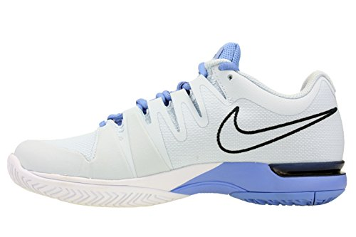 Nike Court Zoom Vapor 9.5 Tour, Chaussures de Tennis femme Bleu - Azul (Blue Tint / Obsidian-Chalk Blue)