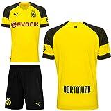 Puma BVB Borussia Dortmund Fußball Set Home Heimset 2018 2019 Herren ohne Aufdruck Gr XL