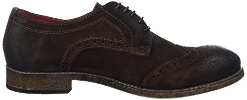 Base London Coniston Herren Schuhe mit Schnürung Marron (Greasy Brown)