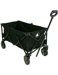 10T Outdoor Equipment Faltbarer Bollerwagen Foldy Trolley - Accesorio para tienda de campaña, color negro, talla 50 kg
