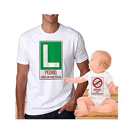Calledelregalo Regalo Personalizable para Padres e Hijos: Pack de Dos