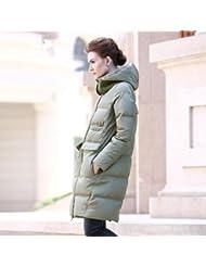 YRF Robes de l'hiver. Épaissir à capuchon doudoune. Dans le trench-coat long. Veste
