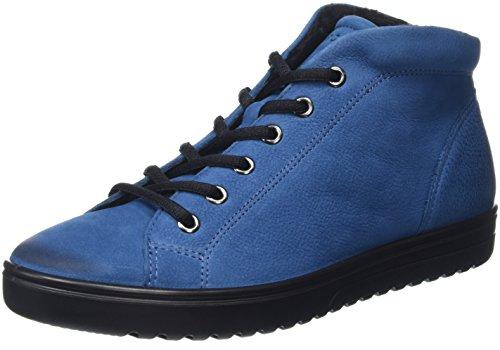 Ecco Damen Fara High-Top Blau (Poseidon2269)