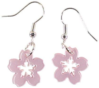 Sour Cherry Blossom Flower Earrings