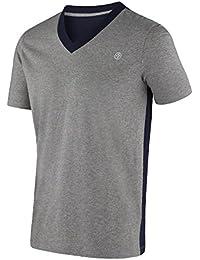 Zumba Fitness Herren T-Shirt Two-tone V-neck