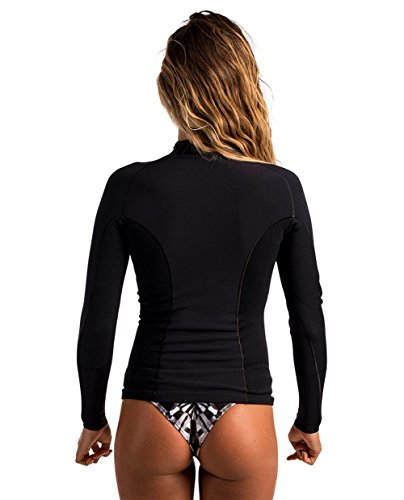 Rip Curl 2017 Ladies G-Bomb 2mm Long Sleeve Front Zip Neo Jacket BLACK WVE6JW