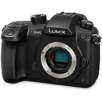Panasonic Lumix GH5L - Cámara EVIL (fotos y videos en 6K, solo cuerpo, sensor MOS de 20.3 MP, estabilizador dual I.S. 2 de 5 ejes) color negro