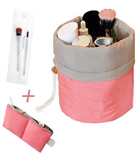 Sac à Soufflets Sac de Maquillage Trousse à Toilette Maquillage Trousse de toilette Sac de Rangement Cosmétique Portable Maquillage Grande Capacité multifonctionnel