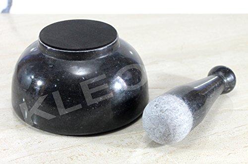 KLEO-6-Wide-Big-Size-Black-Natural-Marble-Stone-Mortar-and-Pestle-Set-As-Spice-Medicine-Grinder-Masher-Kharad-Khallad-Okhli-and-Musal