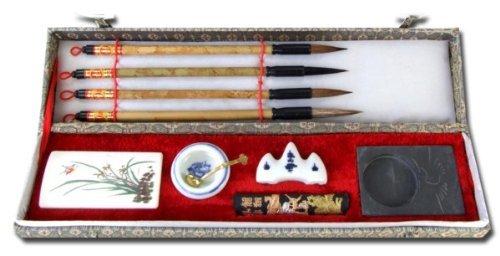 Chinesisches Kalligrafie-Set, Rechteckig (E178/F178)