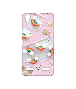Vogueshell Vintage Printed Symmetry PRO Series Hard Back Case for Lenovo A6000