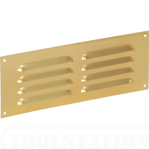 Brassed Louvre Slotted Vent 229x76mm lowest price
