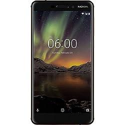 Nokia 6.1 (2018) (3GB + 32GB, Black-Copper)