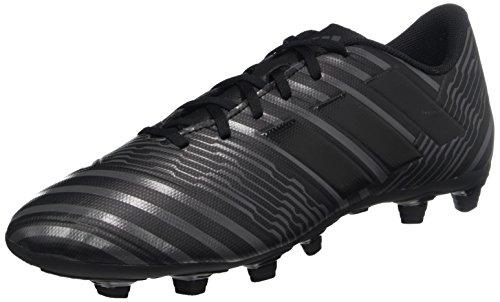 adidas Herren NEMEZIZ 17.4 Fxg Fußballschuhe, Core Black/Core Black/Utility Black, 47 1/3 EU (Rasen Fußball Schuhe Adidas Herren)
