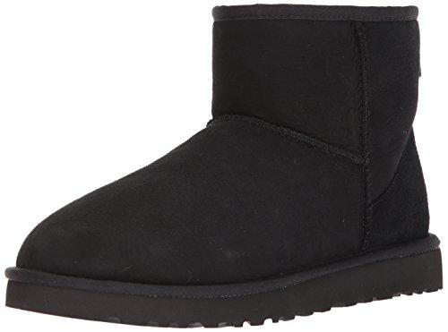 Männer Winter Uggs Stiefel (Ugg Classic Mini, Herren Stiefel, schwarz (Black),42 EU)