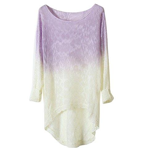 Partiss - Sweat-shirt - Femme violet clair