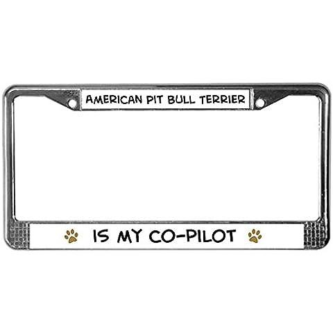 CafePress American Pit Bull Terrier License Plate Frame per software–Standard