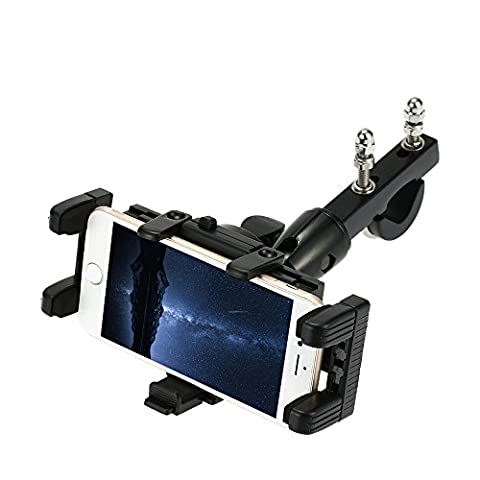 KKmoon Support de moto avec Grand écran Téléphone / GPS Navigation Résistant aux chocs moto / vélo / scooter / VTT Fixation du support pour téléphone portable Interphone