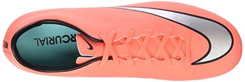 Bottes De Football Nike Mercurial Victory V Ag-r Pour Homme, Orange (mangue Brillante / Hyper Turquoise / Argent Métallique)