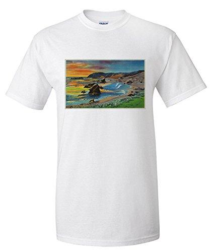oregon-coast-pacific-ocean-view-premium-t-shirt