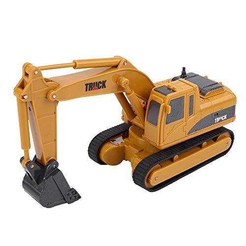 RC Auto kaufen Baufahrzeug Bild 6: Dilwe Fernbedienung Bagger Spielzeug, Mini RC Engineering Truck Auto Baufahrzeug Spielzeug Geschenk für Kinder Kinder*